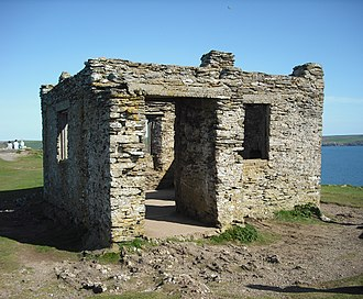 Burgh Island - The remains of the former chapel
