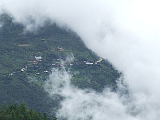 Chin State -  HiangHing Village, Tedim Township - View