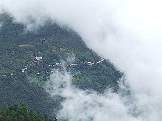 Chin State - HiangHing Village, Tedim Township - View