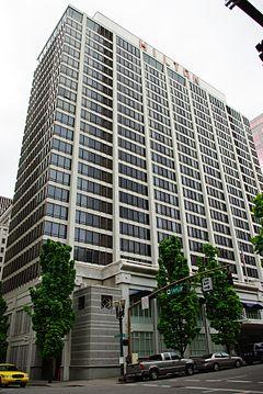 Hilton Hotel Portland Oregon Jpg