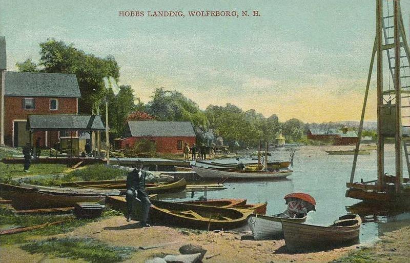 Hobbs Landing, Wolfeboro, NH