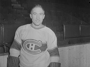 Wilbert Hiller - Image: Hockey. Canadiens B An Q P48S1P12154