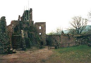 Hohnstein Castle - Ruins of Hohnstein Castle