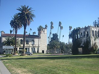 Hollywood Forever Cemetery - Entrance of Hollywood Forever