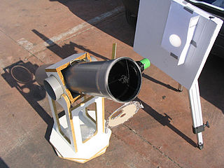 [Solar projection with a Dobsonian]