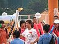 Hong Kong 2009 East Asian Games Torch Relay - 2009-08-29 15h14m03s IMG 7427.JPG