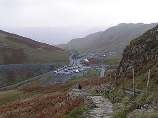 Honister Slate Mine Slate mine in Cumbria in the United Kingdom