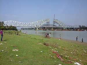 Jubilee Bridge (India) - New Jubilee Bridge under construction in 2015