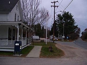 Hopkinton, Rhode Island - Hopkinton City Historic District in 2008