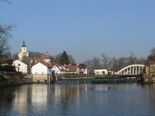Horky nad Jizerou Municipality and village in Central Bohemian Region, Czech Republic