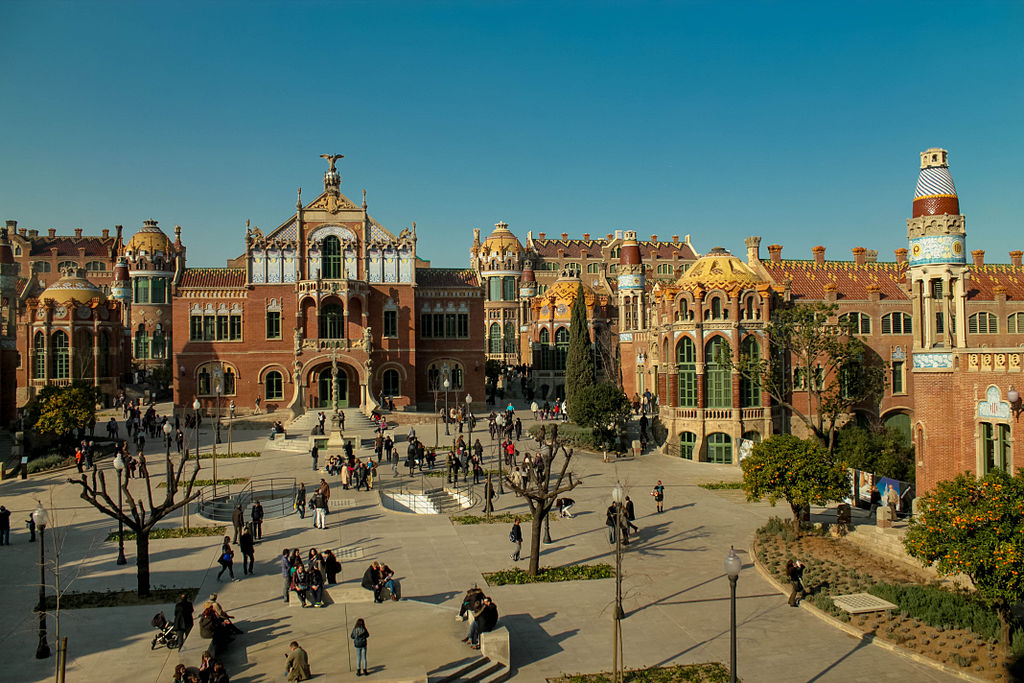 Hopital de Sant Pau à Barcelone - Photo de Noelia Campillo