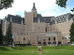 Hotel Bessborough from the rear.