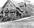 House on northwest corner of Columbia St and 5th Ave, Seattle, Washington, December 4, 1909 (LEE 173).jpeg