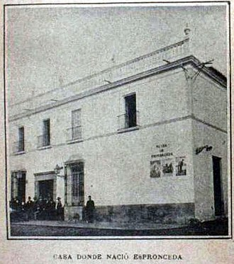 José de Espronceda - House where Espronceda was born