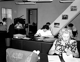 "Human computer - NACA High Speed Flight Station ""Computer Room"" (1949)"