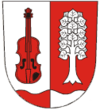 Coat of arms of Huslenky