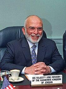 Hussein of Jordan 1997.jpg