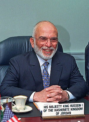 Abu Nidal - King Hussein of Jordan in 1997