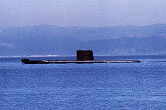 Oberon-class submarine - Oberon-class submarine Hyatt, picture by the Chilean Navy