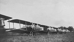 No. 99 Squadron RAF - Handley Page Hyderabad H.P.24 Hyderabads