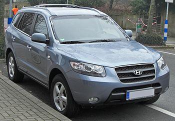 Hyundai Santa Fe II front