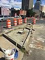 I-91 Viaduct New Island and Signal Work on East Columbus Ave (23644028382).jpg