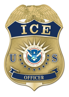 U.S. Immigration and Customs Enforcement American federal law enforcement agency