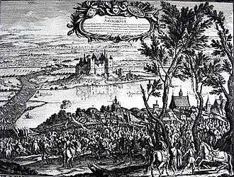 Siege of Kraków (1657) - Image: II. Rakoczi Gyorgy Varso alatt