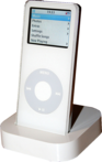IPod Nano in its Dock.png