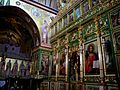 ISRAEL, Mount Tabor - Greek Orthodox Monastery of the Transfiguration (interior 1).JPG