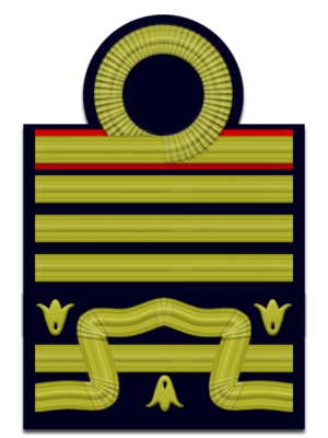 Rank insignia of the Carabinieri - Image: IT Navy OF 9s