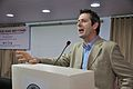 Iain Simpson Stewart - Lecture on Communicating Geoscience through the Popular Media - NCSM - Kolkata 2016-01-25 9324.JPG