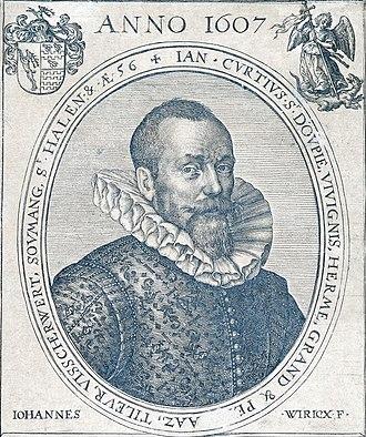 Jean Curtius - Jean Curtius in 1607