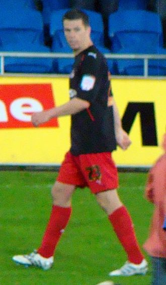 Ian Harte - Harte in action for Reading in the 2011 Championship play-offs