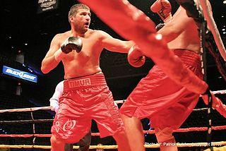 Timur Ibragimov Uzbekistani boxer