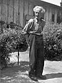 Idős féfi portréja, 1950 körül. Fortepan 17239.jpg