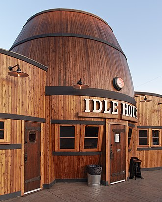 North Hollywood, Los Angeles - The Idle Hour Cafe on Vineland Ave.