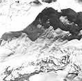Iliamna Volcano, mountain glacier with bergschrund, August 25, 1964 (GLACIERS 6573).jpg