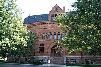 Albert W. Fuller - Iliff School of Theology, Denver, 1892.
