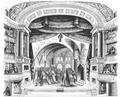 Illustrirte Zeitung (1843) 05 013 1 Scene des zweiten Actes, wo Friedrich Barbarossa sich zu erkennen giebt.PNG