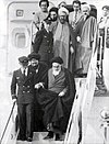 Return of Khomeini from exile