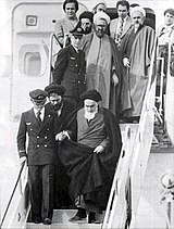 Return of Ayatollah Khomeini from exile