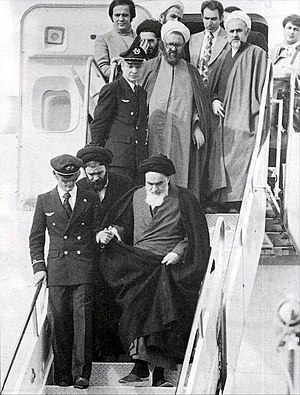Iran and state-sponsored terrorism - Ayatollah Khomeini arrives in Iran