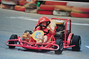 Alexandre Imperatori - Alexandre Imperatori go-karting at the age of 4