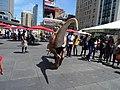 Impressive Raptor puppet, at Dundas Square, 2016 07 16 (1).JPG - panoramio.jpg