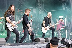 In Flames bei Rock am Ring 2017