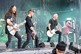 In Flames beim Rock am Ring 2017