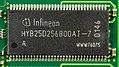 Infineon HYB25D256800AT-7 - on Infineon memory module-7226.jpg