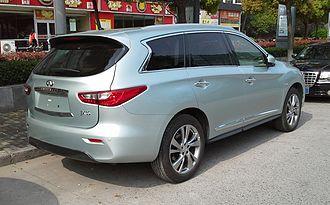Infiniti QX60 - Infiniti JX35 rear