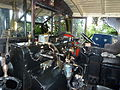 Inside the cab, Foden steam wagon, Abergavenny steam rally 2012.jpg